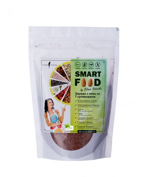 SMART FOOD by Bilyana Yotovska with Stevia 200g