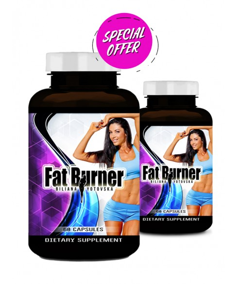 2 x FAT BURNER by BILIANA YOTOVSKA - 60 caps
